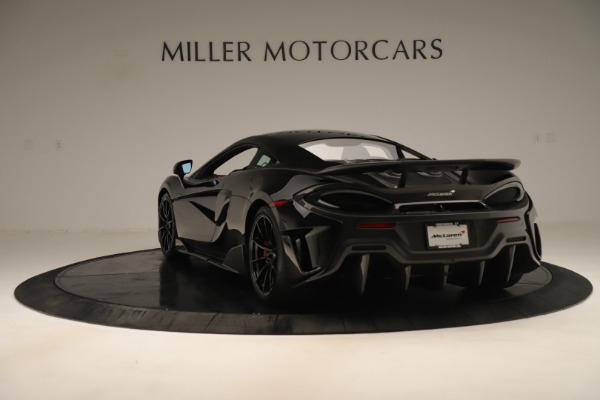 New 2019 McLaren 600LT Coupe for sale $278,790 at Maserati of Greenwich in Greenwich CT 06830 4