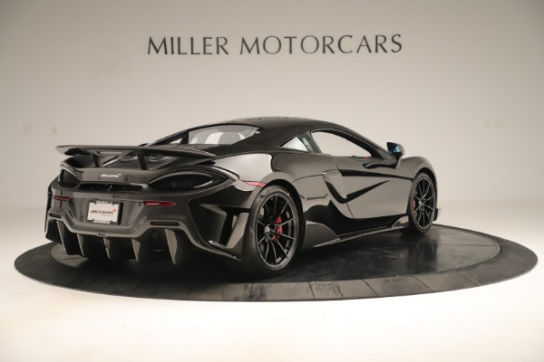 New 2019 McLaren 600LT Coupe for sale $278,790 at Maserati of Greenwich in Greenwich CT 06830 6