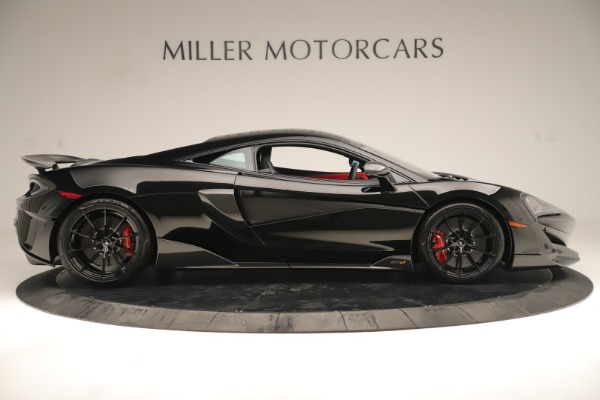 New 2019 McLaren 600LT Coupe for sale $278,790 at Maserati of Greenwich in Greenwich CT 06830 8