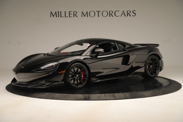 New 2019 McLaren 600LT Coupe for sale $278,790 at Maserati of Greenwich in Greenwich CT 06830 1