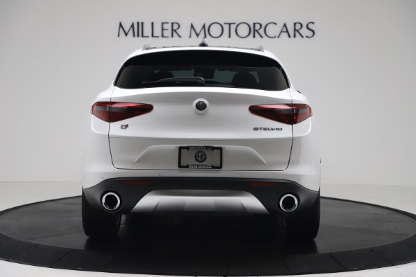 New 2019 Alfa Romeo Stelvio Ti Lusso Q4 for sale Sold at Maserati of Greenwich in Greenwich CT 06830 6