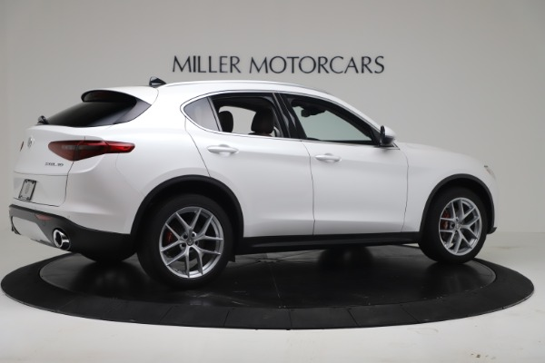New 2019 Alfa Romeo Stelvio Ti Lusso Q4 for sale Sold at Maserati of Greenwich in Greenwich CT 06830 8