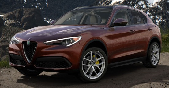 New 2019 Alfa Romeo Stelvio Ti Lusso Q4 for sale $55,490 at Maserati of Greenwich in Greenwich CT 06830 1