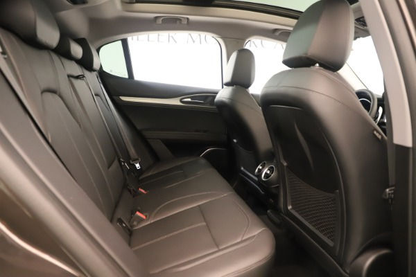 New 2019 Alfa Romeo Stelvio Ti Q4 for sale Sold at Maserati of Greenwich in Greenwich CT 06830 27