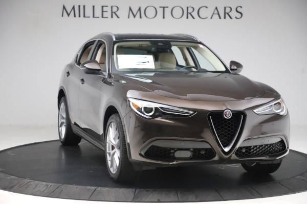 New 2019 Alfa Romeo Stelvio Ti Lusso Q4 for sale $54,790 at Maserati of Greenwich in Greenwich CT 06830 11