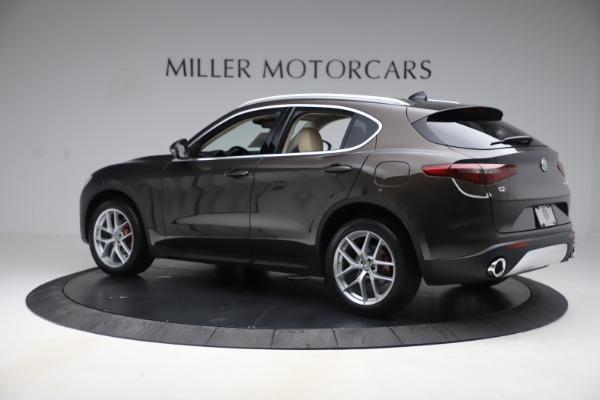 New 2019 Alfa Romeo Stelvio Ti Lusso Q4 for sale $54,790 at Maserati of Greenwich in Greenwich CT 06830 4