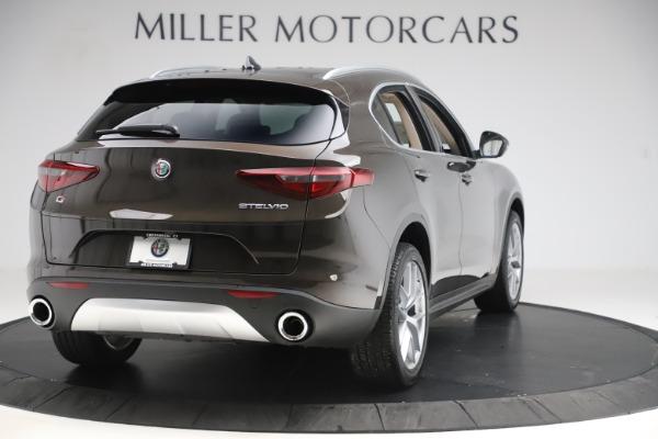 New 2019 Alfa Romeo Stelvio Ti Lusso Q4 for sale $54,790 at Maserati of Greenwich in Greenwich CT 06830 7