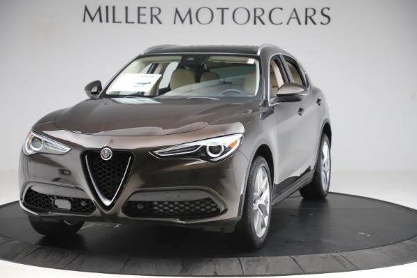 New 2019 Alfa Romeo Stelvio Ti Lusso Q4 for sale $54,790 at Maserati of Greenwich in Greenwich CT 06830 1