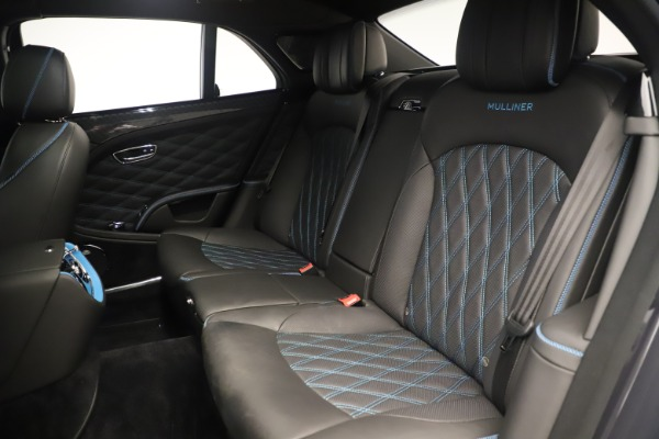 Used 2018 Bentley Mulsanne Speed Design Series for sale Call for price at Maserati of Greenwich in Greenwich CT 06830 25