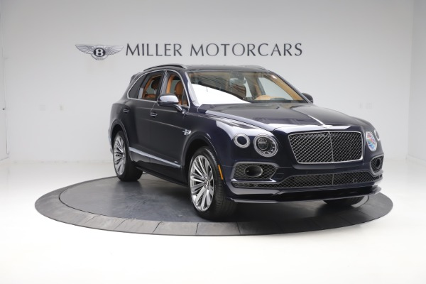 New 2020 Bentley Bentayga Speed for sale Sold at Maserati of Greenwich in Greenwich CT 06830 11