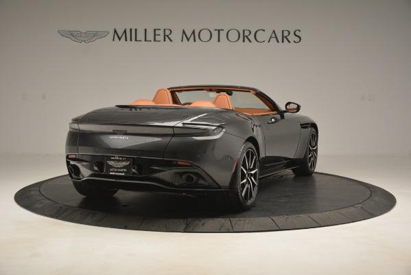 Used 2019 Aston Martin DB11 V8 Volante for sale Sold at Maserati of Greenwich in Greenwich CT 06830 6