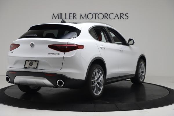 New 2019 Alfa Romeo Stelvio Ti Q4 for sale Sold at Maserati of Greenwich in Greenwich CT 06830 7