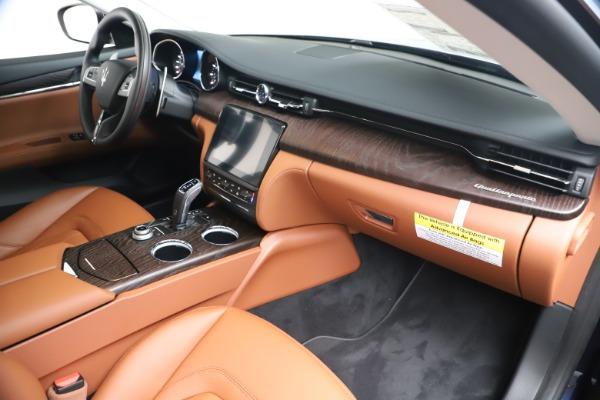 New 2019 Maserati Quattroporte S Q4 for sale Sold at Maserati of Greenwich in Greenwich CT 06830 22