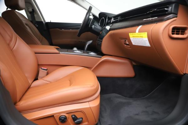 New 2019 Maserati Quattroporte S Q4 for sale Sold at Maserati of Greenwich in Greenwich CT 06830 23
