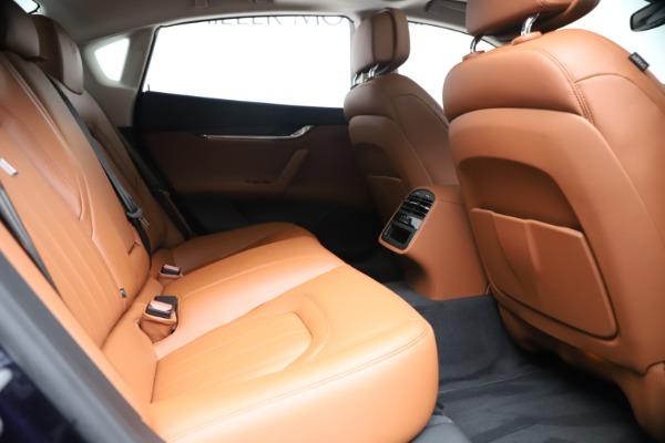 New 2019 Maserati Quattroporte S Q4 for sale Sold at Maserati of Greenwich in Greenwich CT 06830 27