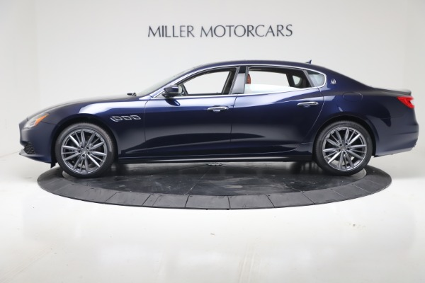New 2019 Maserati Quattroporte S Q4 for sale Sold at Maserati of Greenwich in Greenwich CT 06830 3