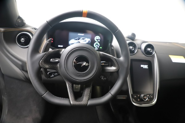 New 2019 McLaren 600LT for sale $285,236 at Maserati of Greenwich in Greenwich CT 06830 20