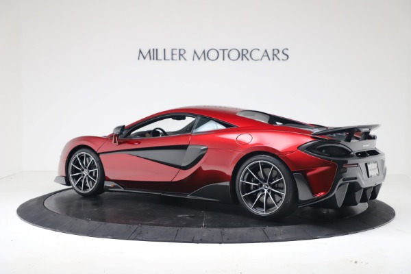 New 2019 McLaren 600LT for sale $285,236 at Maserati of Greenwich in Greenwich CT 06830 3