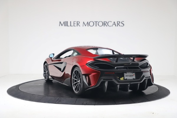 New 2019 McLaren 600LT for sale $285,236 at Maserati of Greenwich in Greenwich CT 06830 4