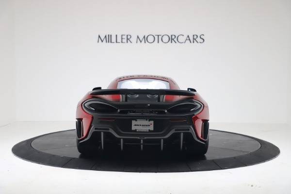 New 2019 McLaren 600LT Luxury for sale $285,236 at Maserati of Greenwich in Greenwich CT 06830 5