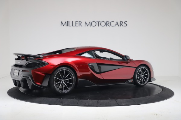 New 2019 McLaren 600LT for sale $285,236 at Maserati of Greenwich in Greenwich CT 06830 7