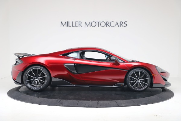 New 2019 McLaren 600LT for sale $285,236 at Maserati of Greenwich in Greenwich CT 06830 8