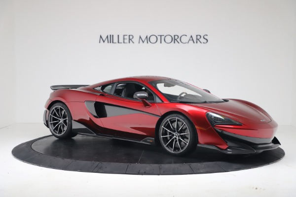New 2019 McLaren 600LT for sale $285,236 at Maserati of Greenwich in Greenwich CT 06830 9