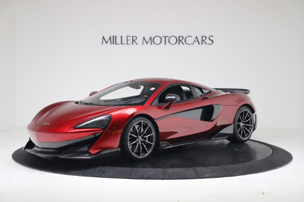 New 2019 McLaren 600LT Coupe for sale $285,236 at Maserati of Greenwich in Greenwich CT 06830 1