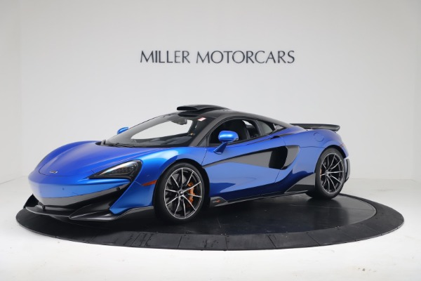 New 2019 McLaren 600LT Coupe for sale Sold at Maserati of Greenwich in Greenwich CT 06830 1