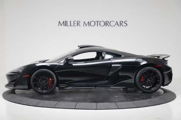 New 2019 McLaren 600LT for sale $305,639 at Maserati of Greenwich in Greenwich CT 06830 2