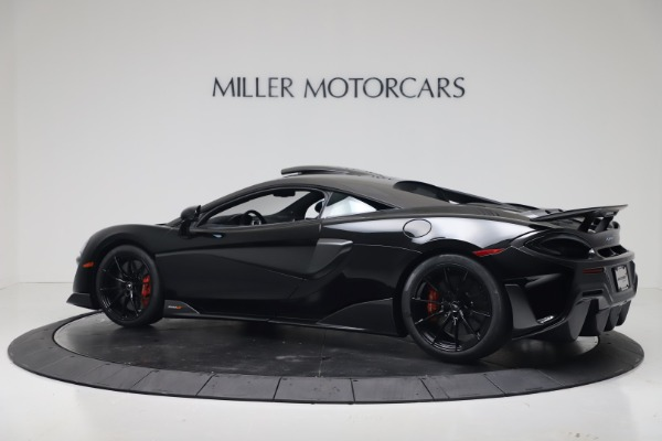 New 2019 McLaren 600LT Coupe for sale $305,639 at Maserati of Greenwich in Greenwich CT 06830 3