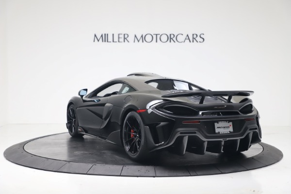 New 2019 McLaren 600LT for sale $305,639 at Maserati of Greenwich in Greenwich CT 06830 4