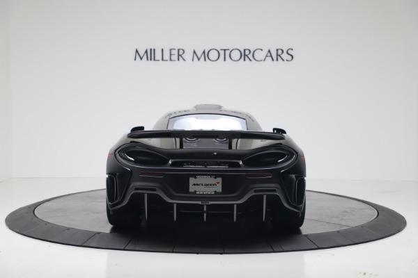 New 2019 McLaren 600LT Coupe for sale $305,639 at Maserati of Greenwich in Greenwich CT 06830 5