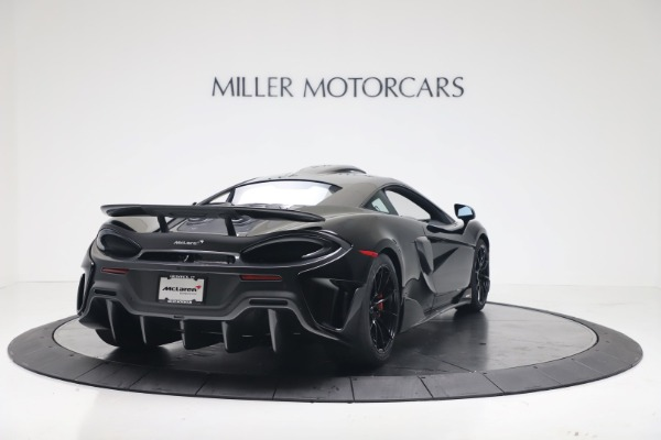 New 2019 McLaren 600LT Coupe for sale $305,639 at Maserati of Greenwich in Greenwich CT 06830 6