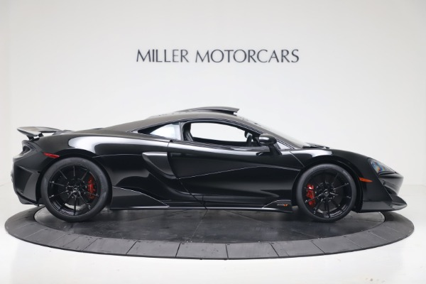 New 2019 McLaren 600LT Coupe for sale $305,639 at Maserati of Greenwich in Greenwich CT 06830 8