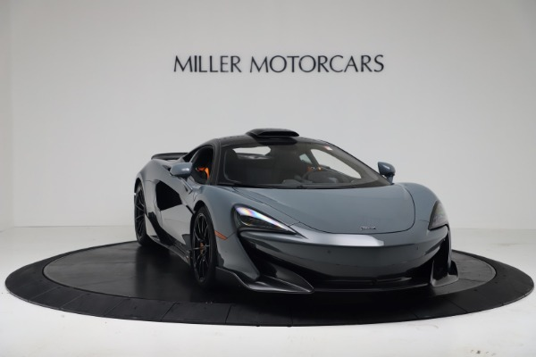 New 2019 McLaren 600LT Coupe for sale $311,619 at Maserati of Greenwich in Greenwich CT 06830 10
