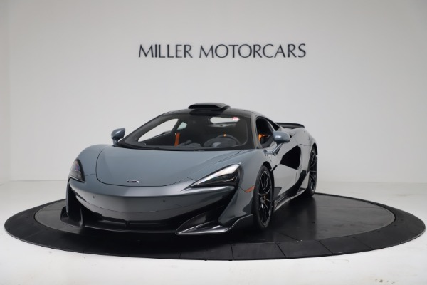 New 2019 McLaren 600LT for sale $311,619 at Maserati of Greenwich in Greenwich CT 06830 13