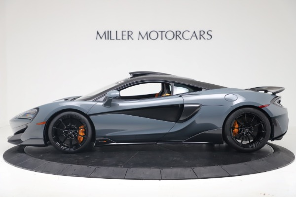 New 2019 McLaren 600LT for sale $311,619 at Maserati of Greenwich in Greenwich CT 06830 2