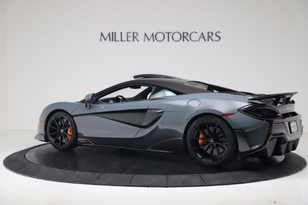 New 2019 McLaren 600LT for sale $311,619 at Maserati of Greenwich in Greenwich CT 06830 3