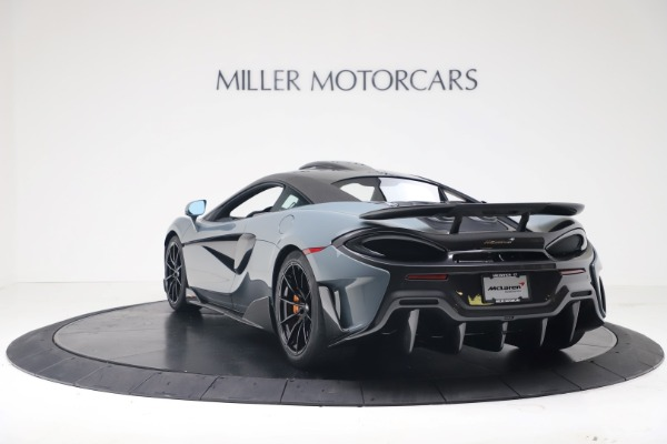 New 2019 McLaren 600LT Coupe for sale $311,619 at Maserati of Greenwich in Greenwich CT 06830 4