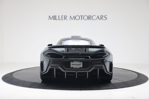 New 2019 McLaren 600LT for sale $311,619 at Maserati of Greenwich in Greenwich CT 06830 5