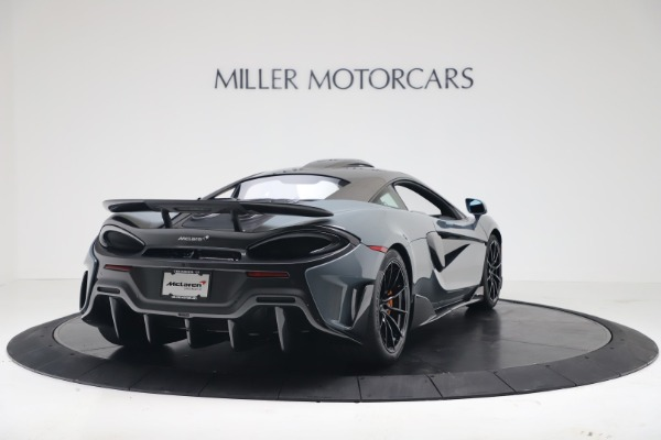 New 2019 McLaren 600LT for sale $311,619 at Maserati of Greenwich in Greenwich CT 06830 6