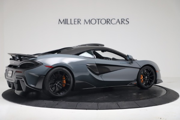 New 2019 McLaren 600LT for sale $311,619 at Maserati of Greenwich in Greenwich CT 06830 7