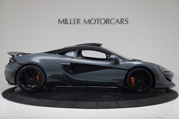 New 2019 McLaren 600LT for sale $311,619 at Maserati of Greenwich in Greenwich CT 06830 8