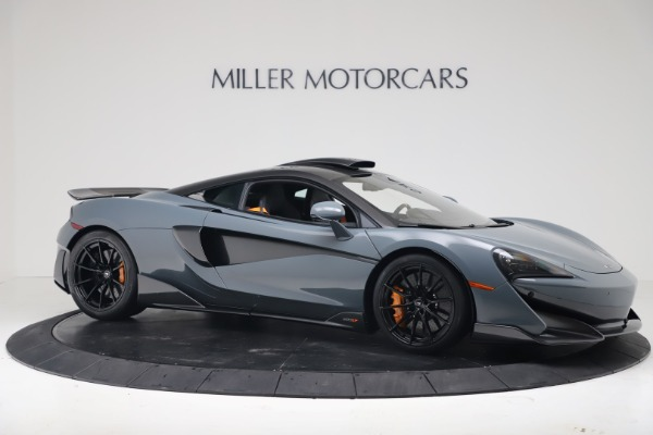 New 2019 McLaren 600LT for sale $311,619 at Maserati of Greenwich in Greenwich CT 06830 9