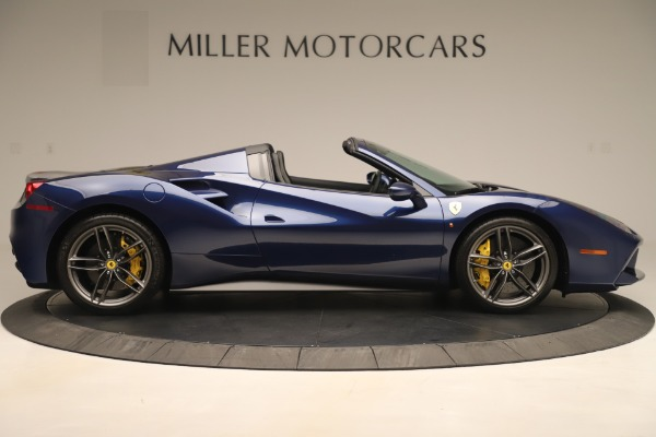 Used 2018 Ferrari 488 Spider for sale $298,900 at Maserati of Greenwich in Greenwich CT 06830 9