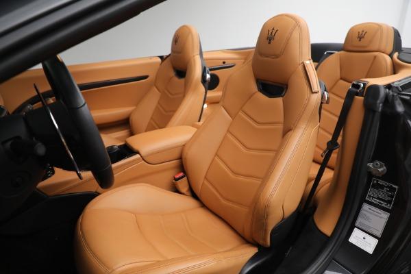New 2019 Maserati GranTurismo MC Convertible for sale $178,745 at Maserati of Greenwich in Greenwich CT 06830 27