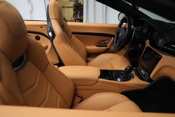 New 2019 Maserati GranTurismo Sport Convertible for sale $164,075 at Maserati of Greenwich in Greenwich CT 06830 21