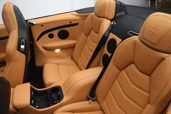 New 2019 Maserati GranTurismo Sport Convertible for sale $164,075 at Maserati of Greenwich in Greenwich CT 06830 22