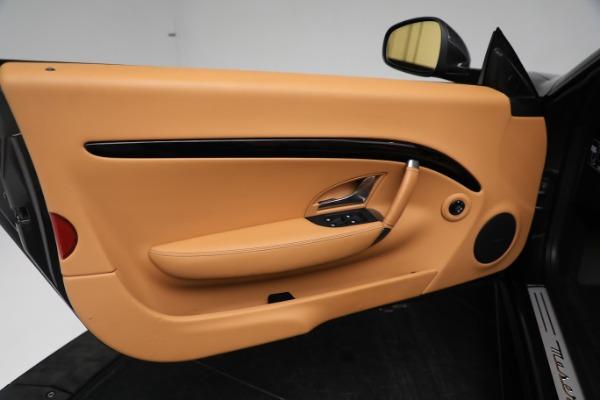 New 2019 Maserati GranTurismo Sport Convertible for sale $164,075 at Maserati of Greenwich in Greenwich CT 06830 25